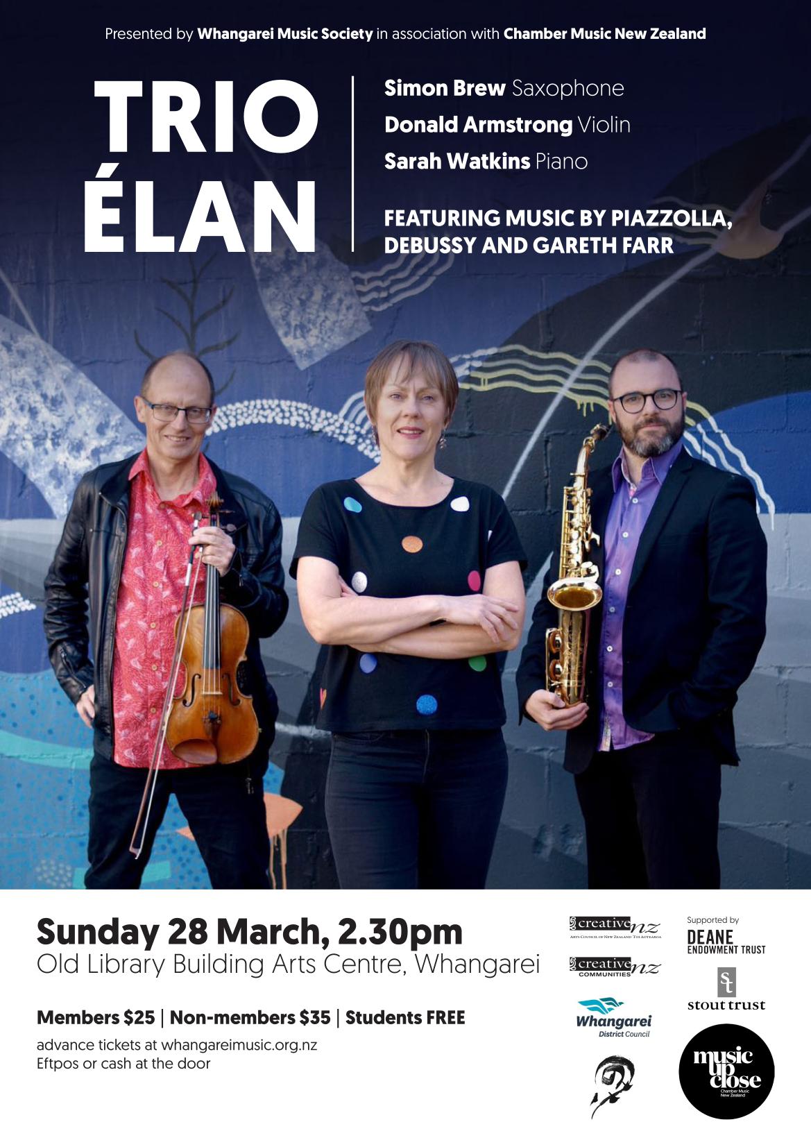 A3 Trio Élan - Whangarei - Brochure